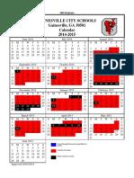 gcss 2014-2015 calendar