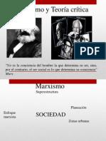 Marxismo&TeoriaCritica