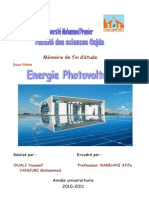 Photovoltaic Energy(Energie PV)