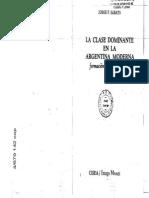 3. SABATO, Jorge - La Clase Dominante en La Argentina Moderna (Intro y Cap. II)
