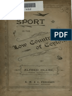 Sport in the Low-country of the Ceylon