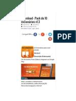 Porto Editora – Pack de 10 Dicionários v1