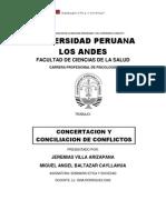Cociliacion y Concertacion de Conflictos Gina