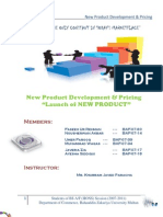 New Product Development Report