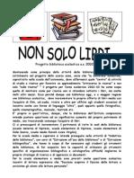 Progetto biblioteca 2002-2003 - Non solo libri