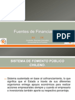 Fuentes de Financiamiento 1