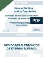 Medidores Eletrônicos de Energia Elétrica - Fiscalização Da ANEEL Na AMPLA - Tarifas Da ENERSUL