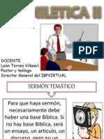 02 Material Complementario El Sermón Tematico