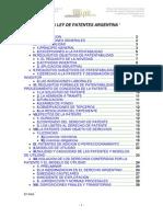 Anlisis de La Ley de Patentes Argentina