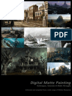 Photoshop Digital Matte Painting - Techniques Tutorials and Walk-Throughs