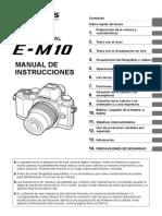Olympus OM-D E-M10 Manual de Instrucciones (Español)