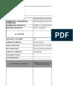 Planeacion Pedagogica Para Proyecto - Materiales - Gestion de Mantenimiento Elect