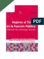 Mujeres Al Timon en La Funcion Publica