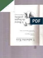 Umberto Eco 2001 a Busca Da Língua Perfeita
