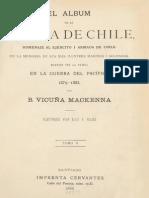 Album de La Gloria de Chile T.ii. (1885)