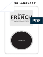 Living Language French IknowFrench