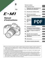 Olympus OM-D E-M1 Manuel d'Instructions (Française)