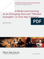 GEE New Digital Media and Learning as an EmergingArea Bk