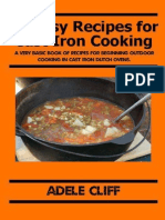 20 Easy Recipes for Cast Iron C - Adele Cliff