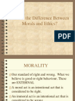 51304492 What is the Difference Between Morals and Ethics Powerpoint Presentation