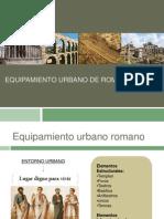 Equipamiento Urbano de Roma