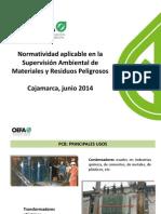Normativa Ambiental PCB OEFA