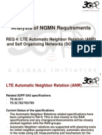 04 - SA5 Analysis of NGMN Requirement 4 - LTE Automatic Neighbor Relation (ANR) and Self Organizing Networks (SON) (1)