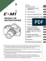 Olympus OM-D E-M1 Manual de Instrucciones (Español)