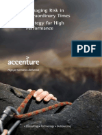 Accenture Managing Risk in Extraordinary Times