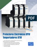 Relés Electrónicos RTW-RPW - Cat944 (Desatualizado)