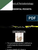 Periodontal Pocket Pathogenesis