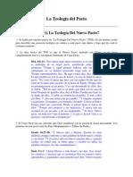 01 - Que Es La Teologia Del Pacto