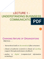 Introduction to managerial communication