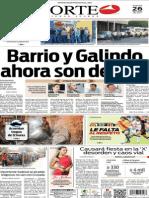 Periódico Norte edición del día 26 de julio de 2014
