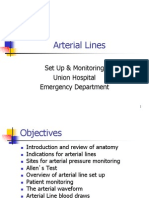 Arterial Lines (1)
