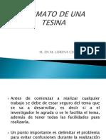 FORMATO TESINA
