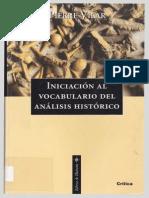 Vilar Pierre - Iniciacion Al Analisis Del Vocabulario Historico Copy