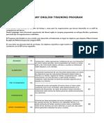 In-Company EnglishTraining Program (Smart Language)
