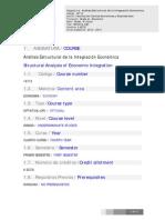 16712 Análisis Estructural de La Integración Económica. ECO 12-13