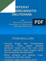 Tromboangitis Obliterans