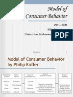 4. Model of Consumer Behavior1