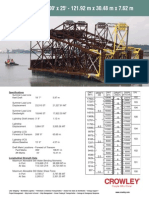 Crowley Barge 400 L Series Spec Sheet