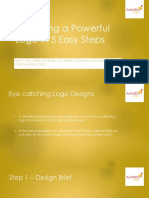 Designing a Powerful Logo in 5 Easy Steps