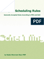 SchedulingRulesVr1.0