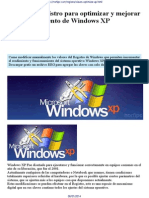 Claves Del Registro Para Optimizar Funcionamiento de Windows XP