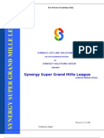 Synergy Super Grand Mille League - Intro & Offer Document