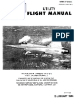 F-20A [NTM 1F-20A-1] Utility Flight Manual (1984) WW