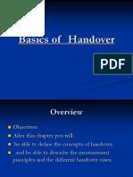 Basics of Handover