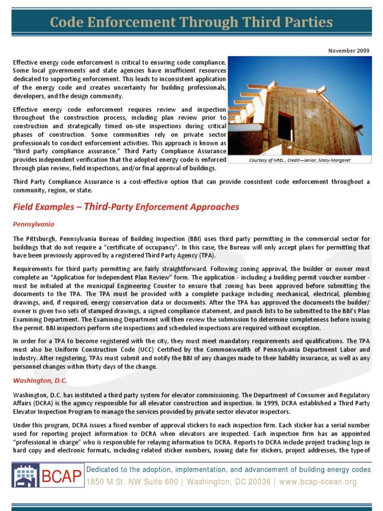 Third party code enforcement factsheet regulatory compliance third party code enforcement factsheet regulatory compliance notary public 1betcityfo Images