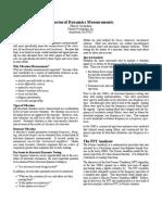 Structural Dynamics Measurements